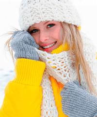 Уход зимой за кожей